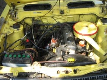 mesin standar, karbu 1800cc