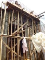 gak pake scaffolding-kekecilan area nya
