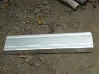 ini yg namanya besi rangka C zincalum tebal 0,75 mm