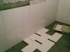 nyoba kombinasi lantai kamar mandi