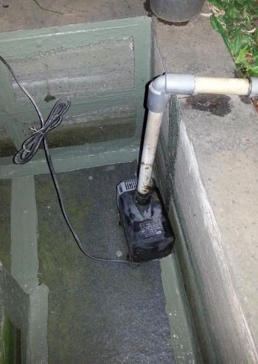 pompa air buat sirkulasi