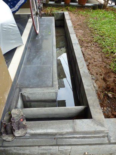 ini test air kolamnya..